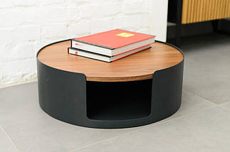 Дизайнерский журнальный столик Ovolo дуб TM Esense, фото 2