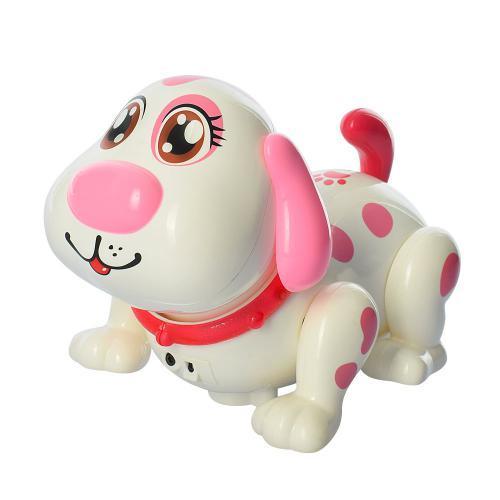 Собака 11035 интерактивная 19 см музыкальная ходит на батарейках