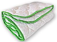 Одеяло двуспальное теплое QSLEEP стеганое Евро 180*210 см белое