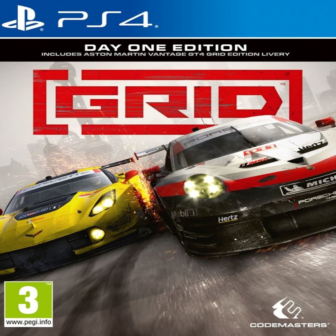 GRID day one edition ENG PS4 (NEW)