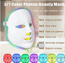 Cветодиодная  LED-маска для лица, фото 3