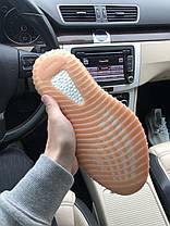 Женские кроссовки в стиле Adidas Yeezy Boost 350 V2 Оrange (36 размер), фото 3
