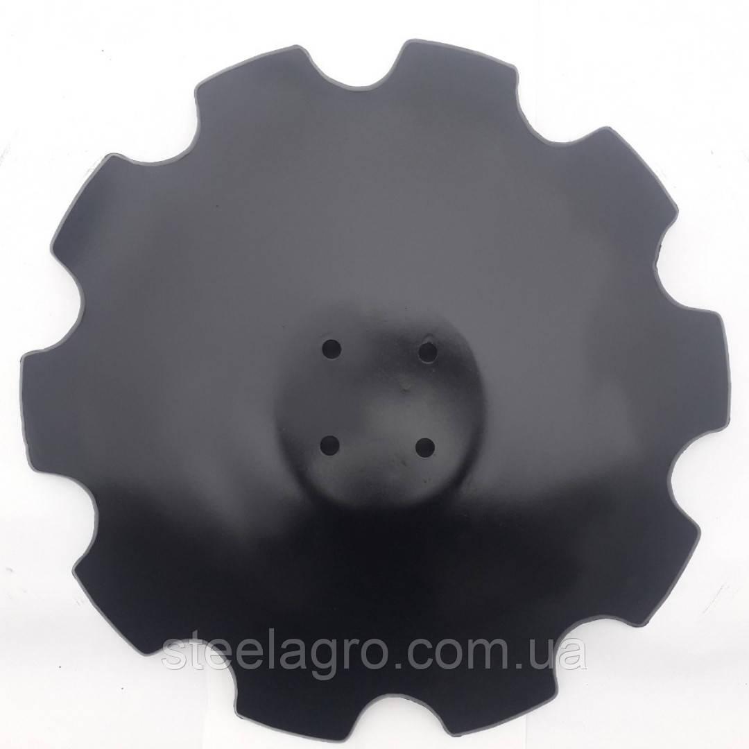 Диск борони Farmet Softer-6 510х60х6мм на 4.отв, Z10 на (фармет софтер) (9002598/3007653/910964)