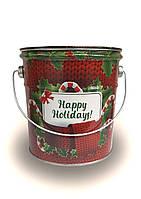 """Відерце """"Happy holidays"""""""