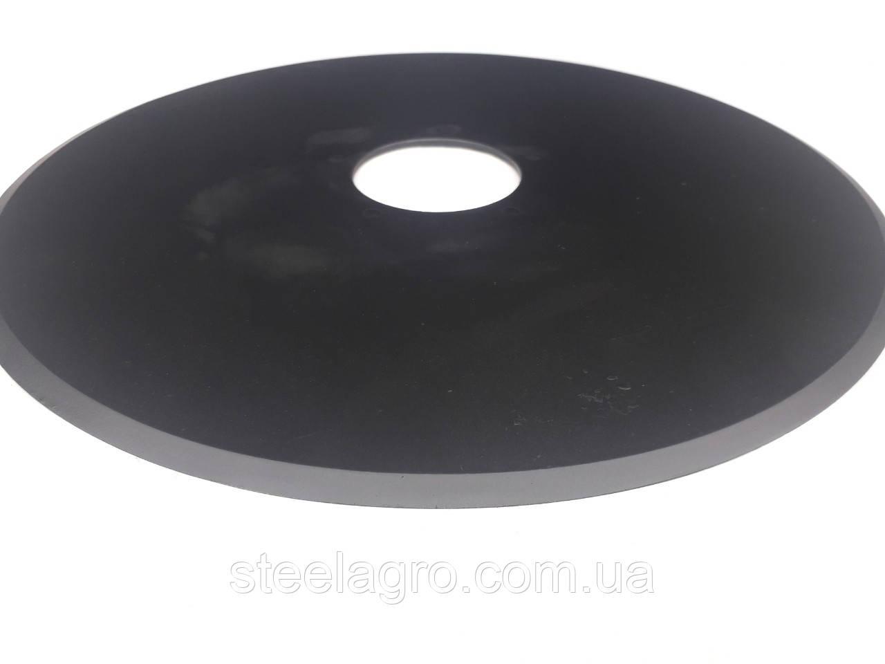 Диск сошника сівалки Ремсинтез СЗ-3.6 /СРЗ-4 / СРЗ-5.4 350х3мм, 5отв.ɸ7мм ст65г, ст30-34Mnb5