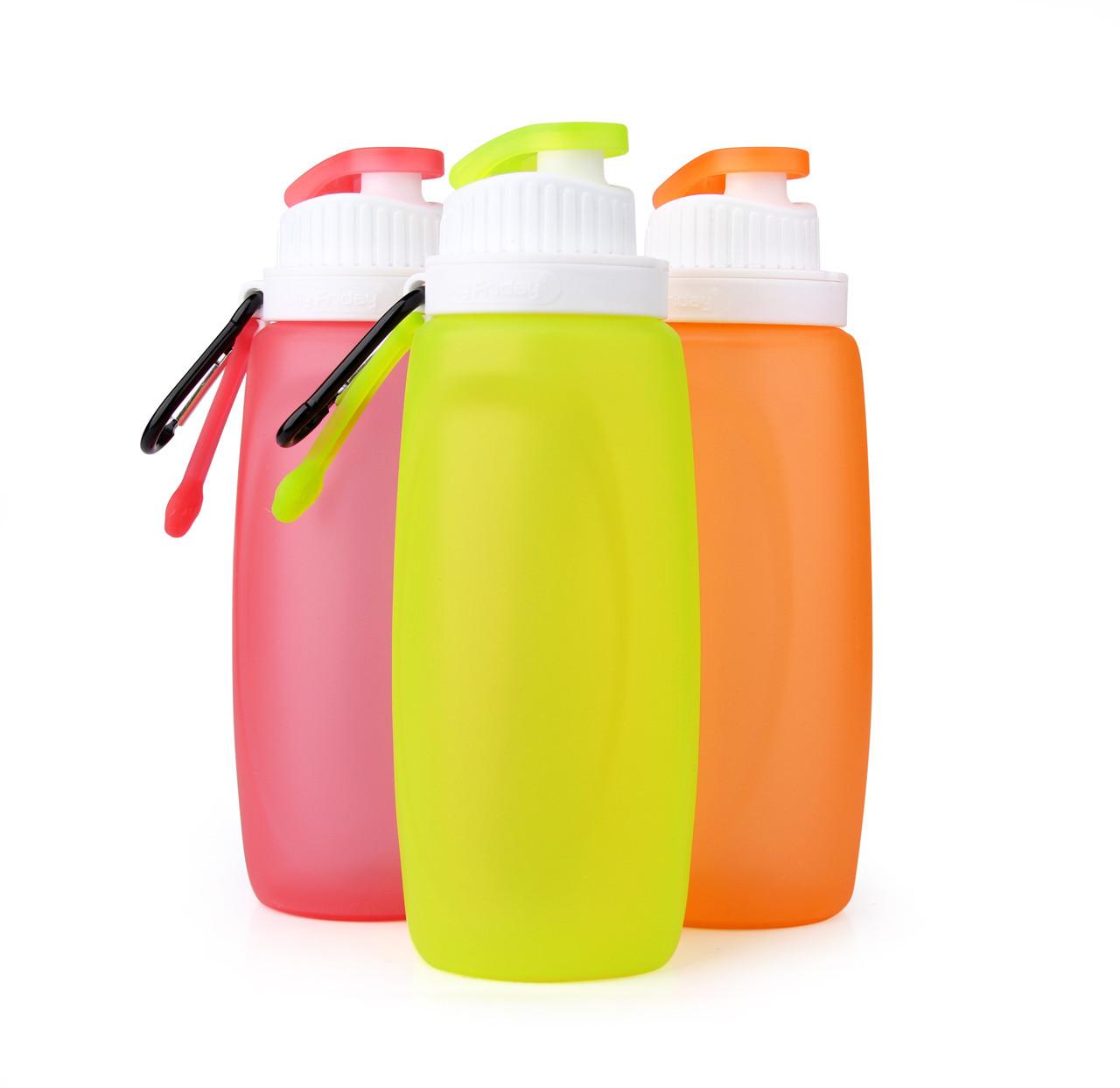 Складные спортивные бутылки для воды 320 мл. оптом