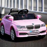 Детский электромобиль M 3271 EBLR-8 с мягким сиденьем, розовый