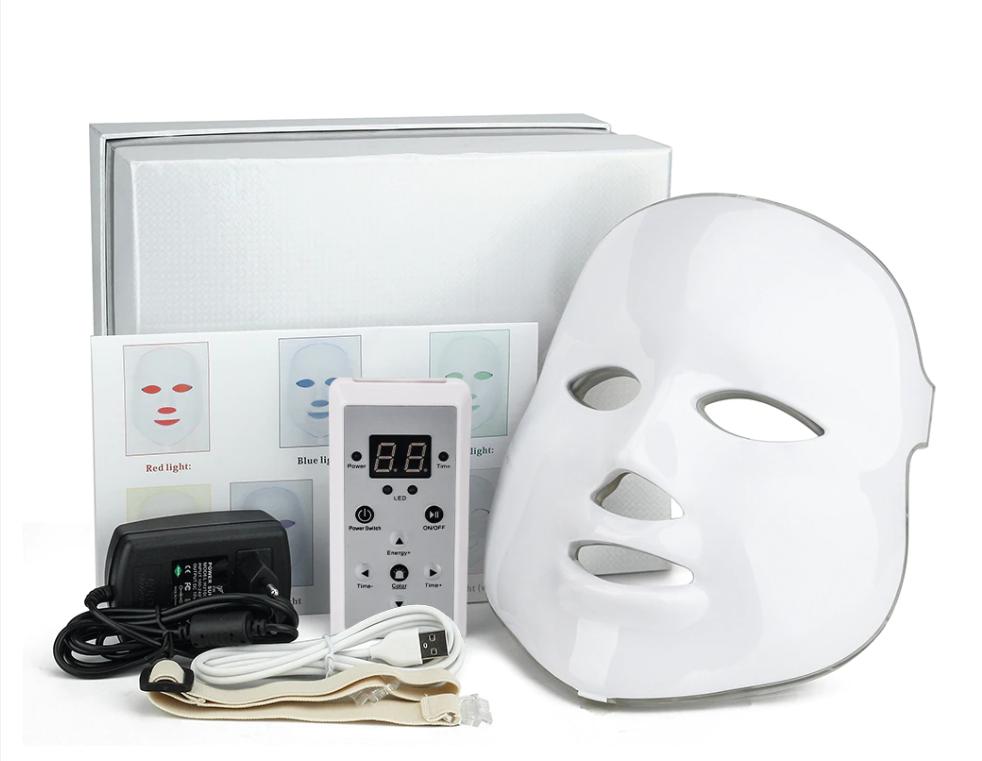 Cветодиодная  LED-маска для лица