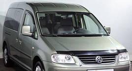 "Ветровики, дефлекторы окон Volkswagen Caddy III 2-х дверный 2004 ""VL-Tuning"""