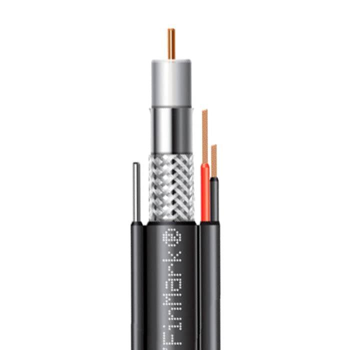 Кабель коаксіальний абонентський FinMark F5967BVMcu-2x0.75 POWER