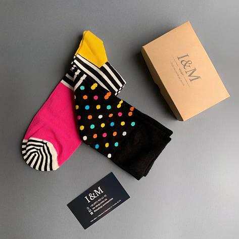 Носки  I&M Craft цветные в горох (070278), фото 2