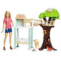 Игровой набор Barbie Центр ухода за животными Mattel