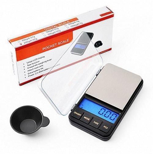 Высокоточные ювелирные весы с чашей до 500 грамм (шаг 0,1)