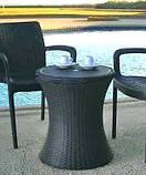 Набор садовой мебели Pacific Cool Bar Rattan Style Patio из искусственного ротанга ( Allibert by Keter ), фото 2