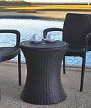 Набор садовой мебели Pacific Cool Bar Rattan Style Patio из искусственного ротанга ( Allibert by Keter ), фото 4