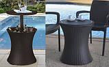 Набор садовой мебели Pacific Cool Bar Rattan Style Patio из искусственного ротанга ( Allibert by Keter ), фото 5