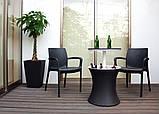 Набор садовой мебели Pacific Cool Bar Rattan Style Patio из искусственного ротанга ( Allibert by Keter ), фото 7