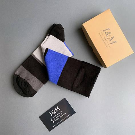Носки  I&M Craft в полоску (070284), фото 2