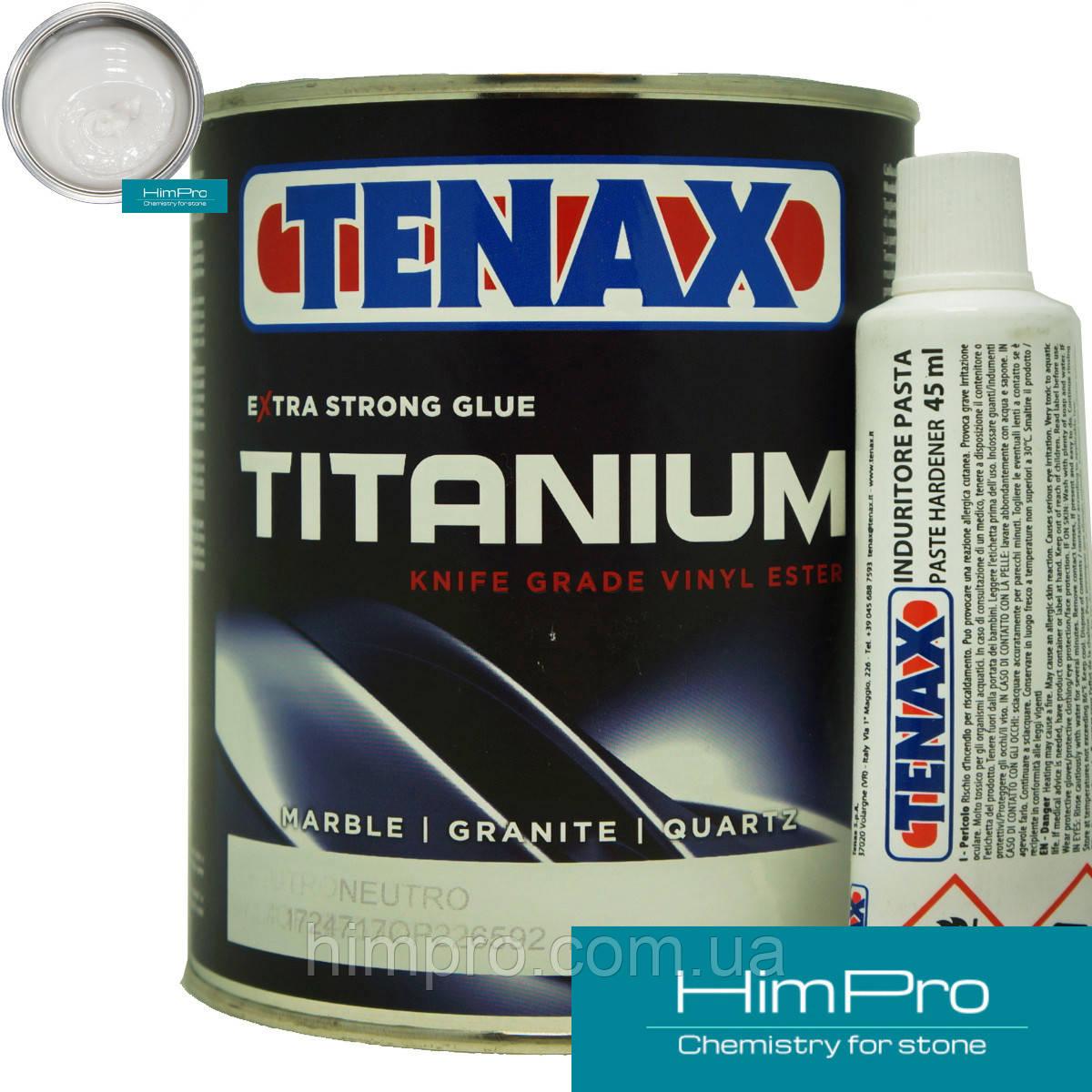 TITANIUM 1L Tenax Высокопрочный винилполиэстеровый клей (молочно- прозрачный)
