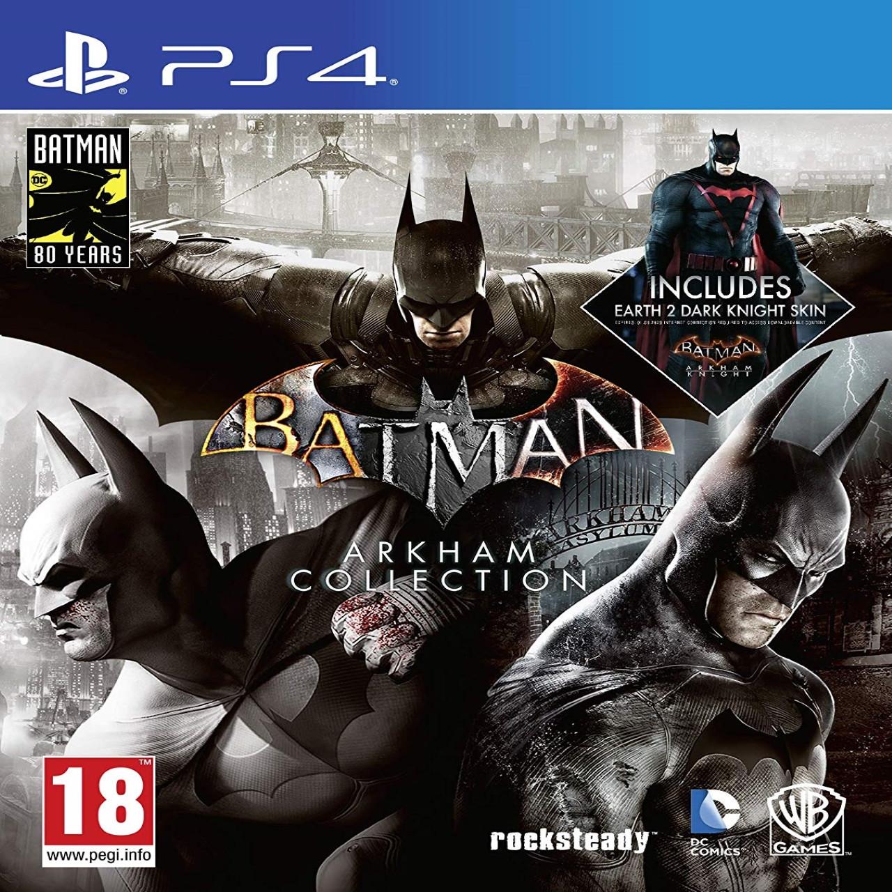 Batman Arkham Collection  SUB PS4