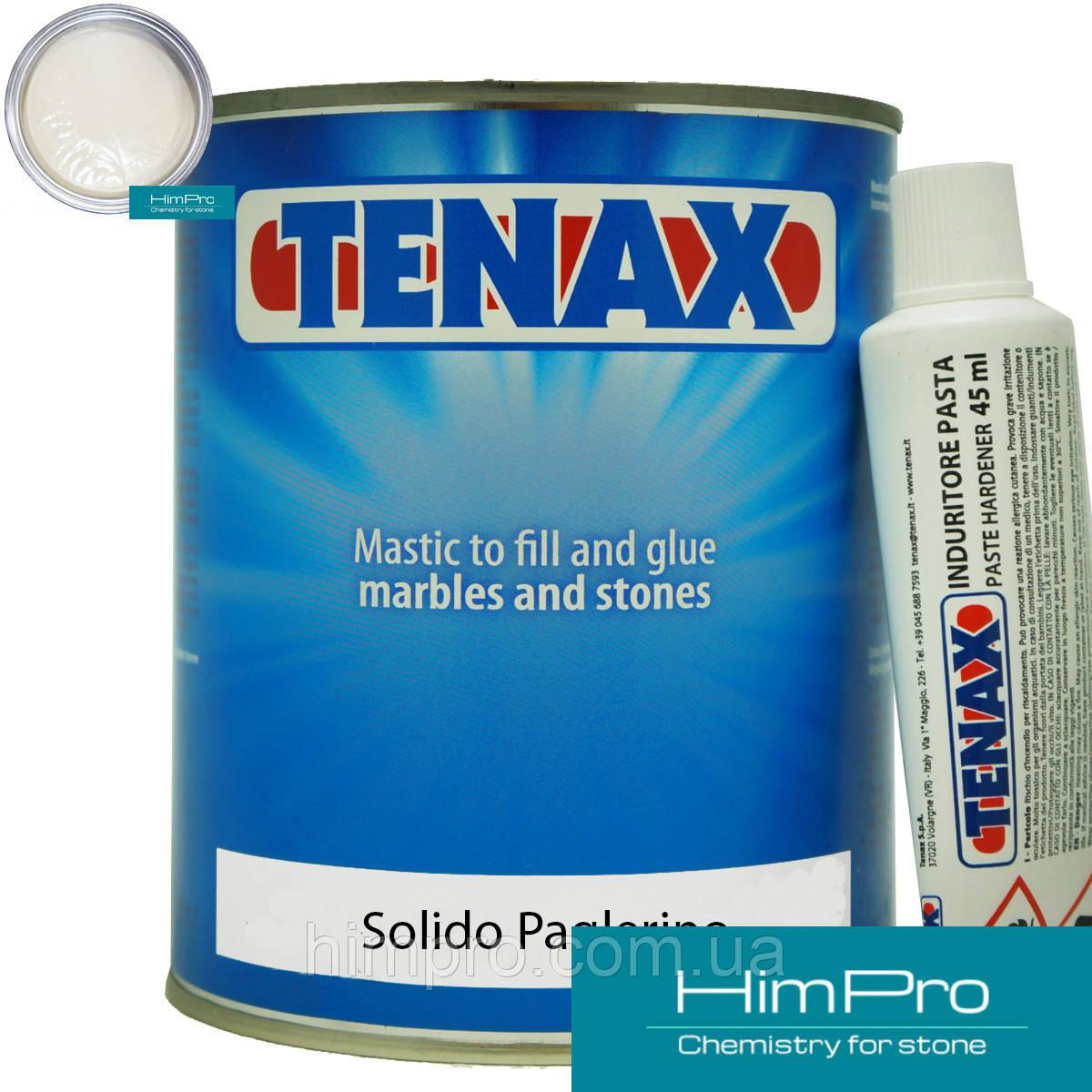 Solido Paglierino 1L Tenax  полиэфирный двух-компонентный клей (бежевый 1.7кг)