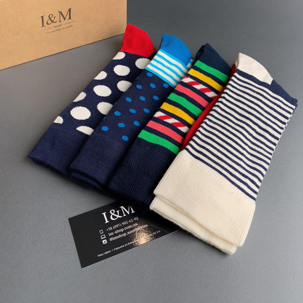 Набор носков I&M Craft из 4-х пар (070295)