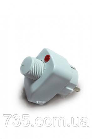 Полотенцесушитель Элна-9 поворотный с терморегулятором (белый), фото 2
