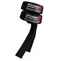 Power System, Лямки для тяги на запястья PS-3400 Power Straps Black/Red