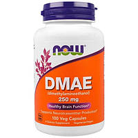 Now Foods, DMAE 250mg антиоксидант, 100 капсул