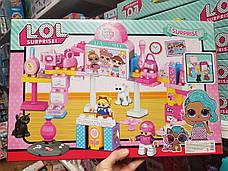 Набор Кукла LOL ЛОЛ 2310 Модная Выставка, фигурки, аксессуары, аналог, 79 крупных деталей, фото 2