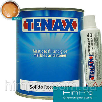 Solido Rosso Verona 1L Tenax  полиэфирный двух-компонентный клей (красный 1.7кг)
