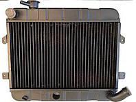 Радиатор ВАЗ 2101 охлаждения водяной медный 2-х рядный