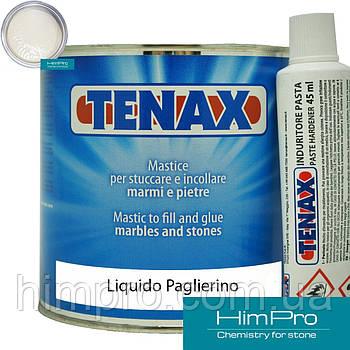 Liquido Paglerino 0.75L Tenax  Полиэфирный клей жидкий (бежевый 1.25кг)