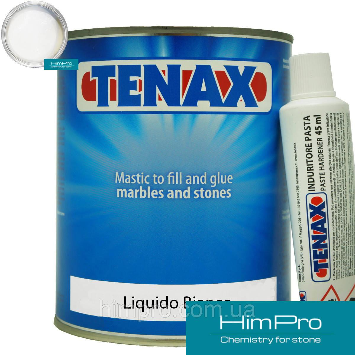 Liquido Bianko 1L Tenax  Полиэфирный двух-компонентный клей  жидкий (белый 1.7кг)
