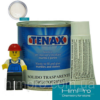 Solido Paglierino 0.125L Tenax Полиэфирный двух-компонентный клей (бежевый 0,2кг)