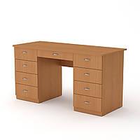 Стол письменный учитель-3 яблоня  (140х60х74 см)