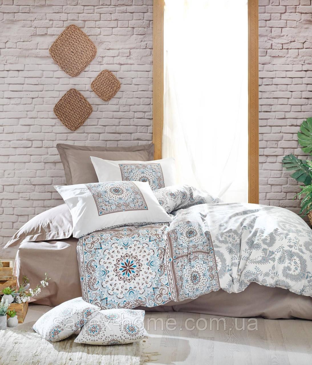 Полуторный комплект постельного белья от Cotton Box (евро)