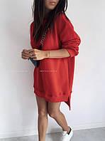 Туника женская теплая трехника 42-46 рр.(СКЛАД-1шт), фото 1