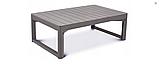 Набор садовой мебели Chicago Set With Wicker Lyon Table Cappuccino ( капучино ) из искусственного ротанга, фото 8