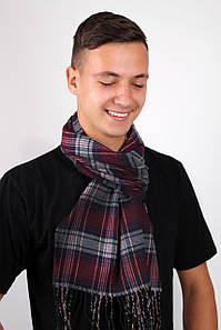Мужские шарфы FAMO Шарф Алекс марсаловый 169*30 (MS-01) #L/A