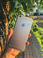 IPhone 6 Plus 16gb Space Gray Neverlock б/у смартфон Apple оригинал