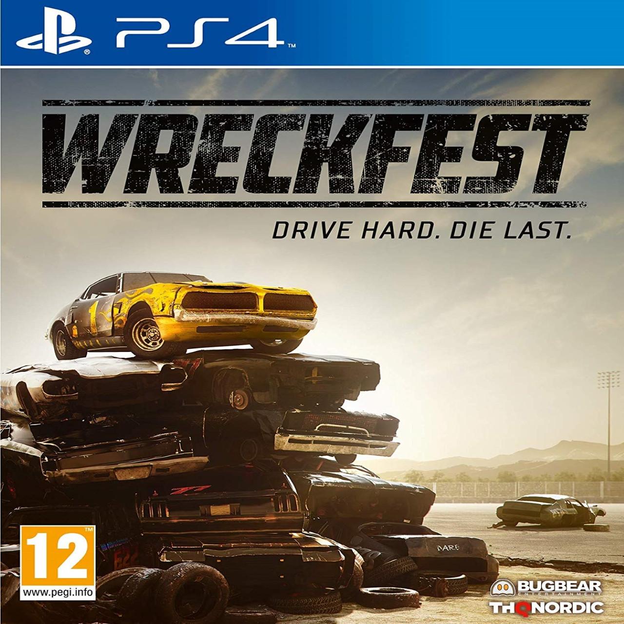 Wreckfest (російські субтитри) PS4