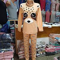 Пижама женская штаны кофта, тапочки, повязка на голову. Турция.