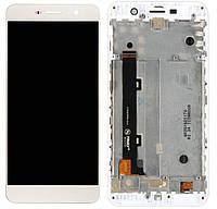 Дисплей (экран) для телефона Huawei Y6 Pro TIT-U02, Y6 Pro TIT-AL00, Enjoy 5, Honor Play 5X + Touchscreen with frame (copy) White