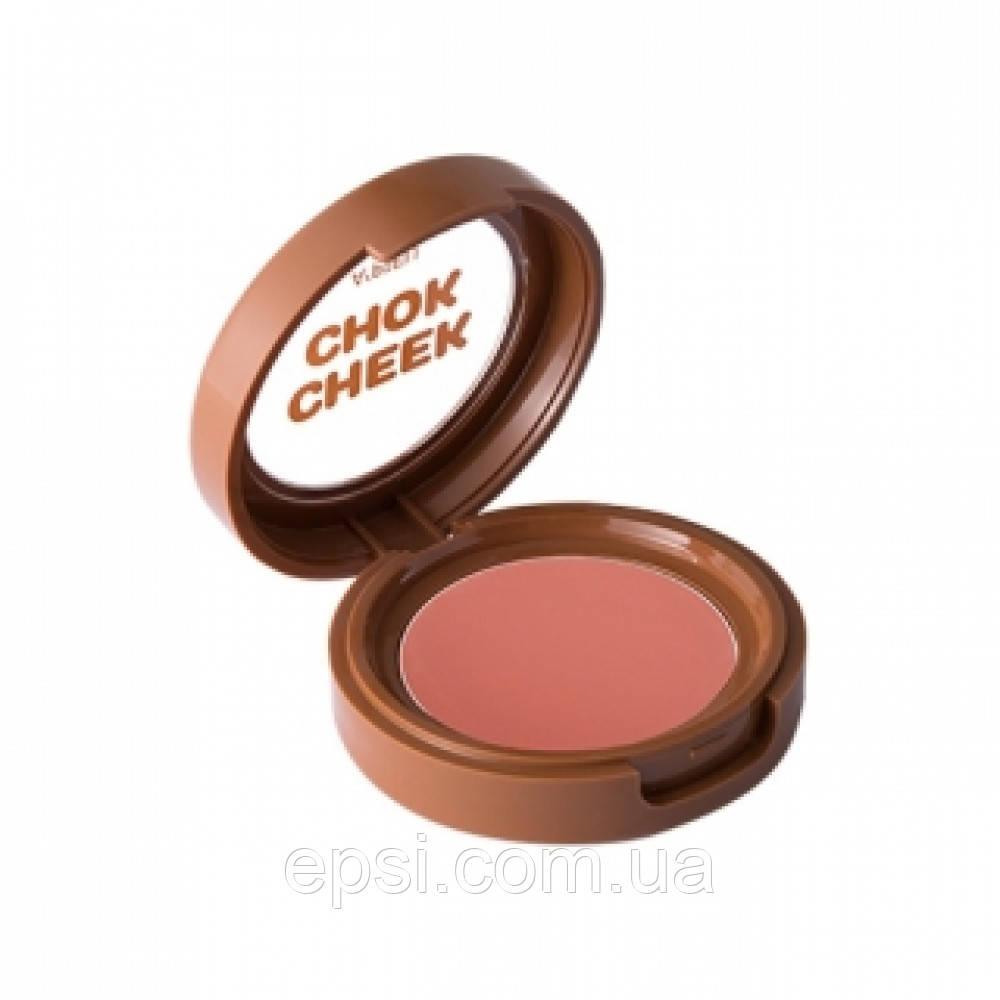 Кремовые румяна Apieu Creamy Cheek-Chok Blusher PK02, 2,3 г