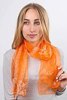 Old Collection No brand Шарф Дордан оранжевый 141*42 (С899) #L/A