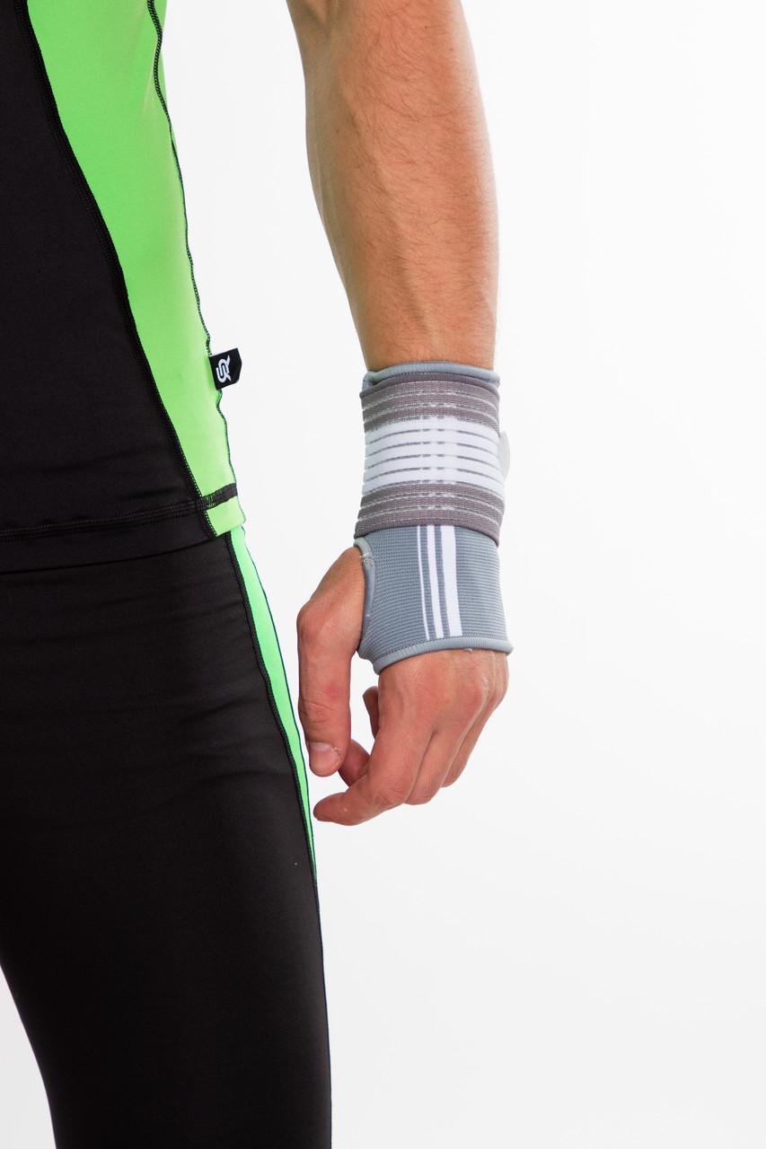 Бандаж спортивный для запястья Spokey Segro (830452), фиксатор лучезапястного сустава, повязка для кисти