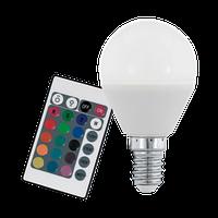 Лампа Eglo диммируемая RGB с пультом LM LED E14 3000K 10682