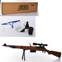 Ружье детское 328-1 107 см, водяные пули, очки