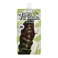 Тонирующая краска для волос Missha 7 Days Coloring Hair Treatment Khaki Green, 25 мл